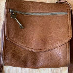 ‼️PRICE DROP‼️ Fossil cross body leather bag